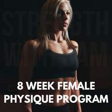 8 Week Female Physique Program
