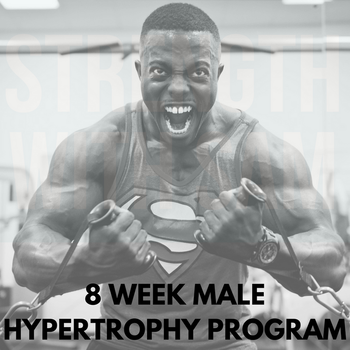 8 Week Male Physique Program