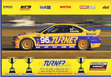 Load image into Gallery viewer, Signature Card - Turner Motorsport Team 2009 #96