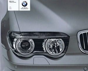 Brochure - BMW 2004 7 Series Sedan 745i 745Li 760Li - E65 / E66 (2nd version)