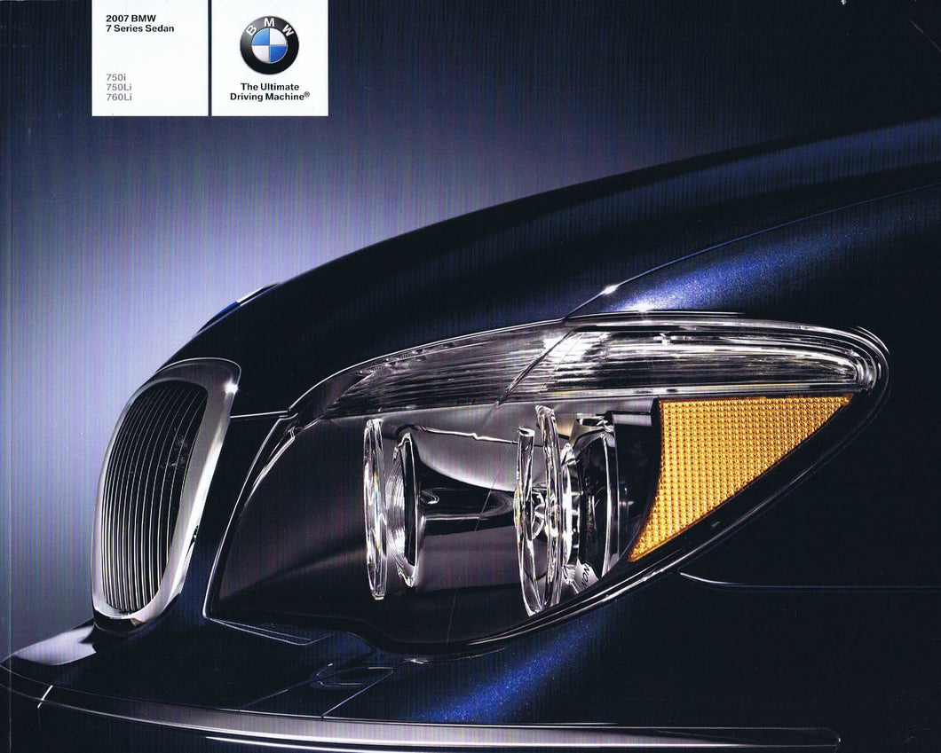 Brochure - BMW 2007 7 Series Sedan 750i 750Li 760Li (E66)