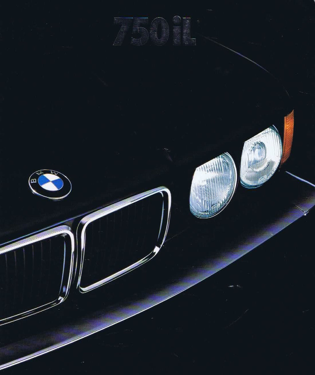 Brochure - 750iL (This is the BMW 1989 E32)