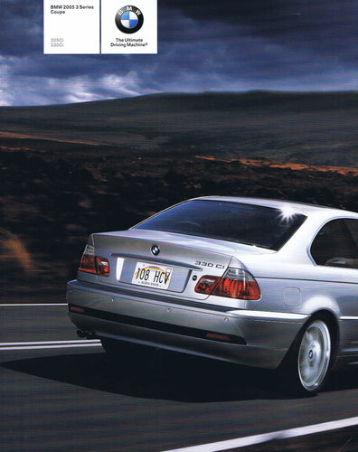 Brochure - BMW 2005 3 Series Coupe 325Ci 330Ci - E46 2nd version
