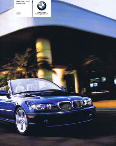 Brochure - BMW 2006 3 Series Convertible 325Ci 330Ci - E46