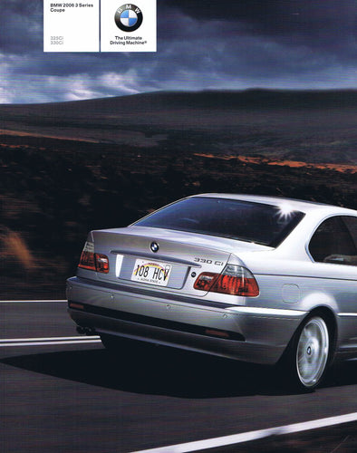Brochure - BMW 2006 3 Series Coupe 325Ci 330Ci - E46