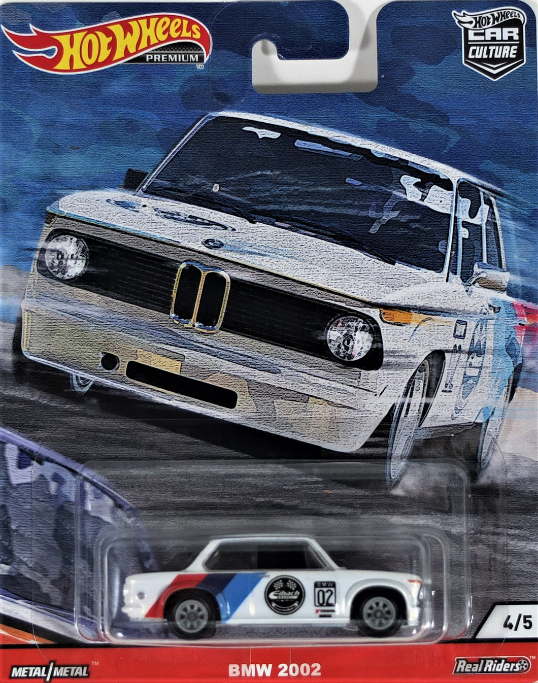 Hot Wheels BMW 2002 (white)