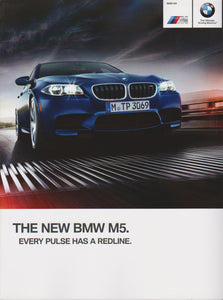 Brochure - The New BMW M5 - 2014 F10 brochure