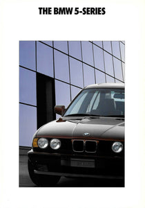 Brochure - The BMW 5-Series (E34 2/90)