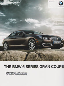 Brochure - The BMW 6 Series Gran Coupe.  - 2014 F13 Brochure