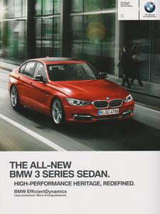 Brochure - The All-New BMW 2013 3 Series Sedan 328i 335i  - F30 Brochure