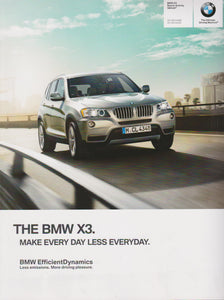 Brochure - BMW X3 Sports Activity Vehicle X3 xDrive28i X3 xDrive35i - 2014 F25 Brochure