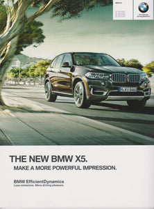 Brochure - The New 2014 BMW X5 - E70 Brochure