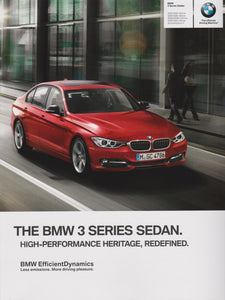 Brochure - The All-New BMW 2014 Series Sedan 328i/328i xDrive 335i/335i xDrive 328d/328d xDrive ActiveHybrid 3 - F30 Brochure