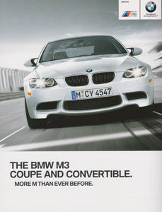 Brochure - The 2012 BMW M3 Coupe M3 convertible - E92 / E93 Brochure