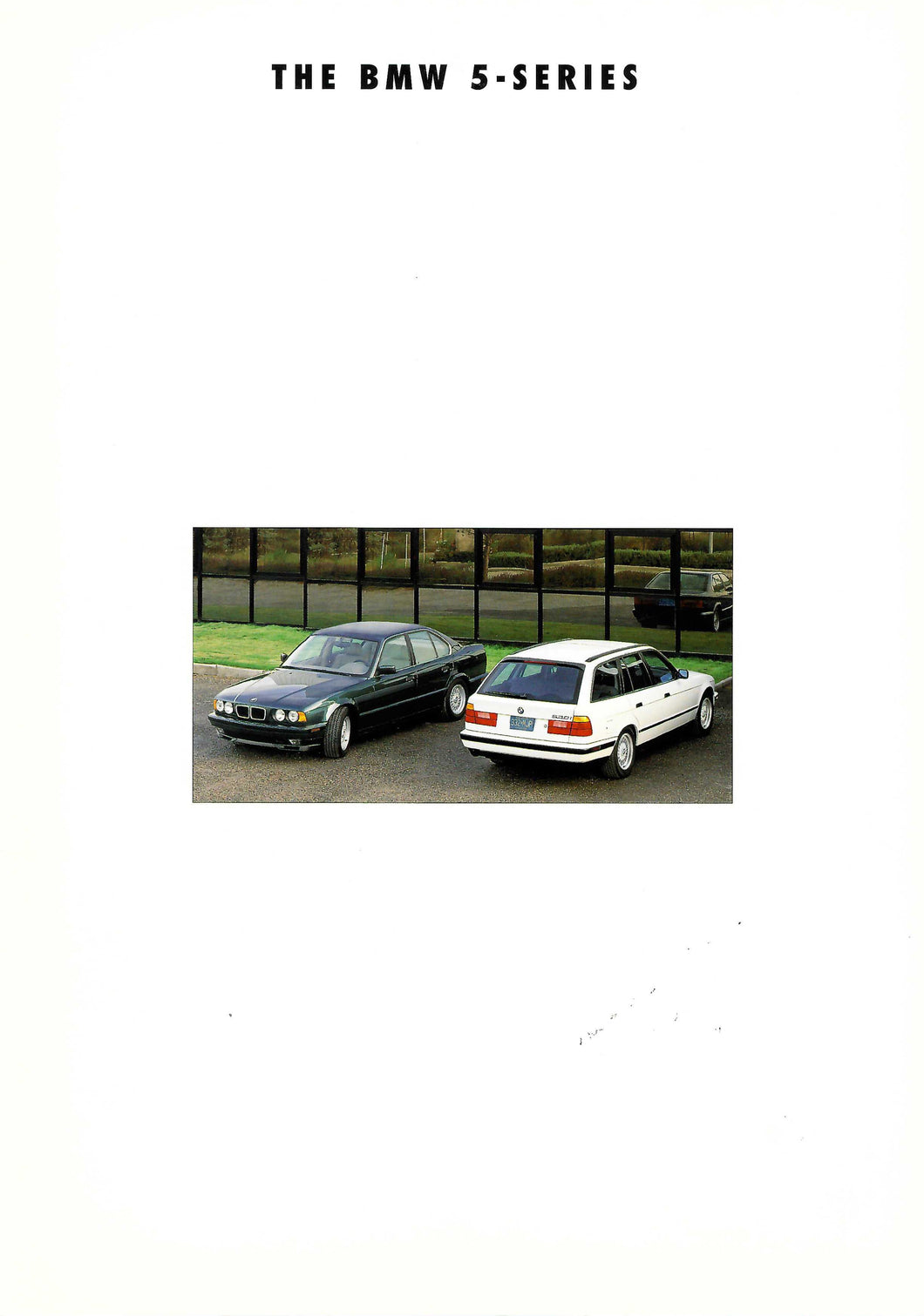 Brochure - The BMW 5-Series (E34)
