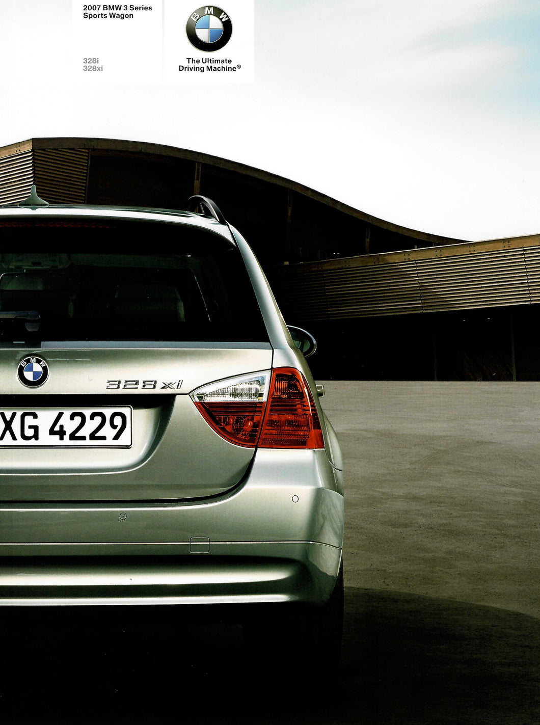 Brochure - The 2007 BMW 3 -Series Sports Wagon 328i 328xi (1st version)