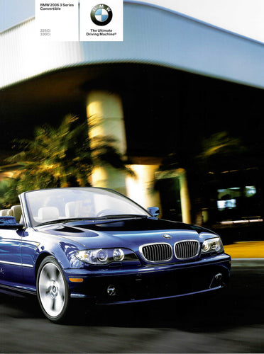 BMW 2006 3 Series Convertible 325Ci 330Ci (E46 1st Version)