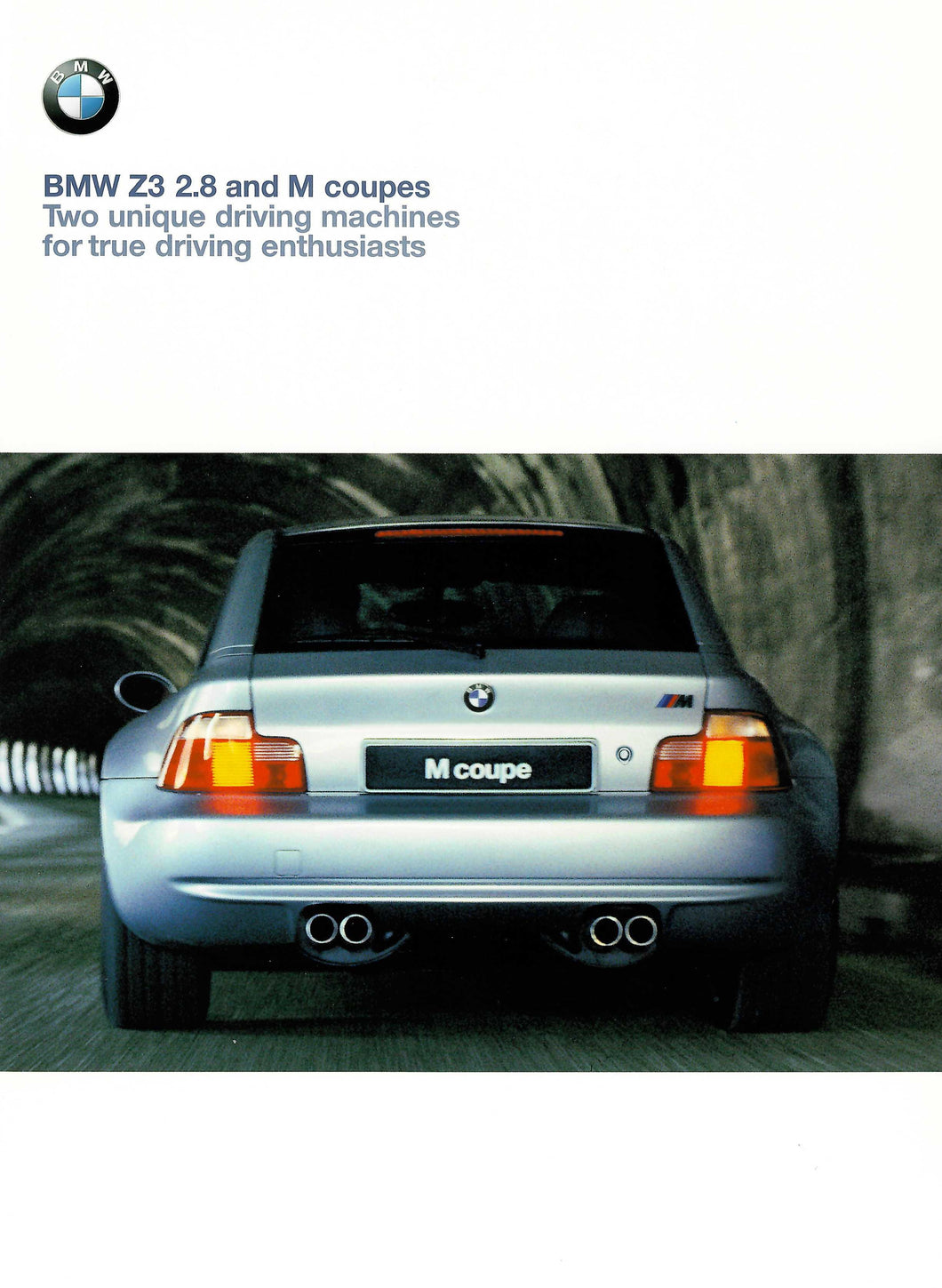 Brochure - The BMW Z3 2.8 and M coupes (E36/7)