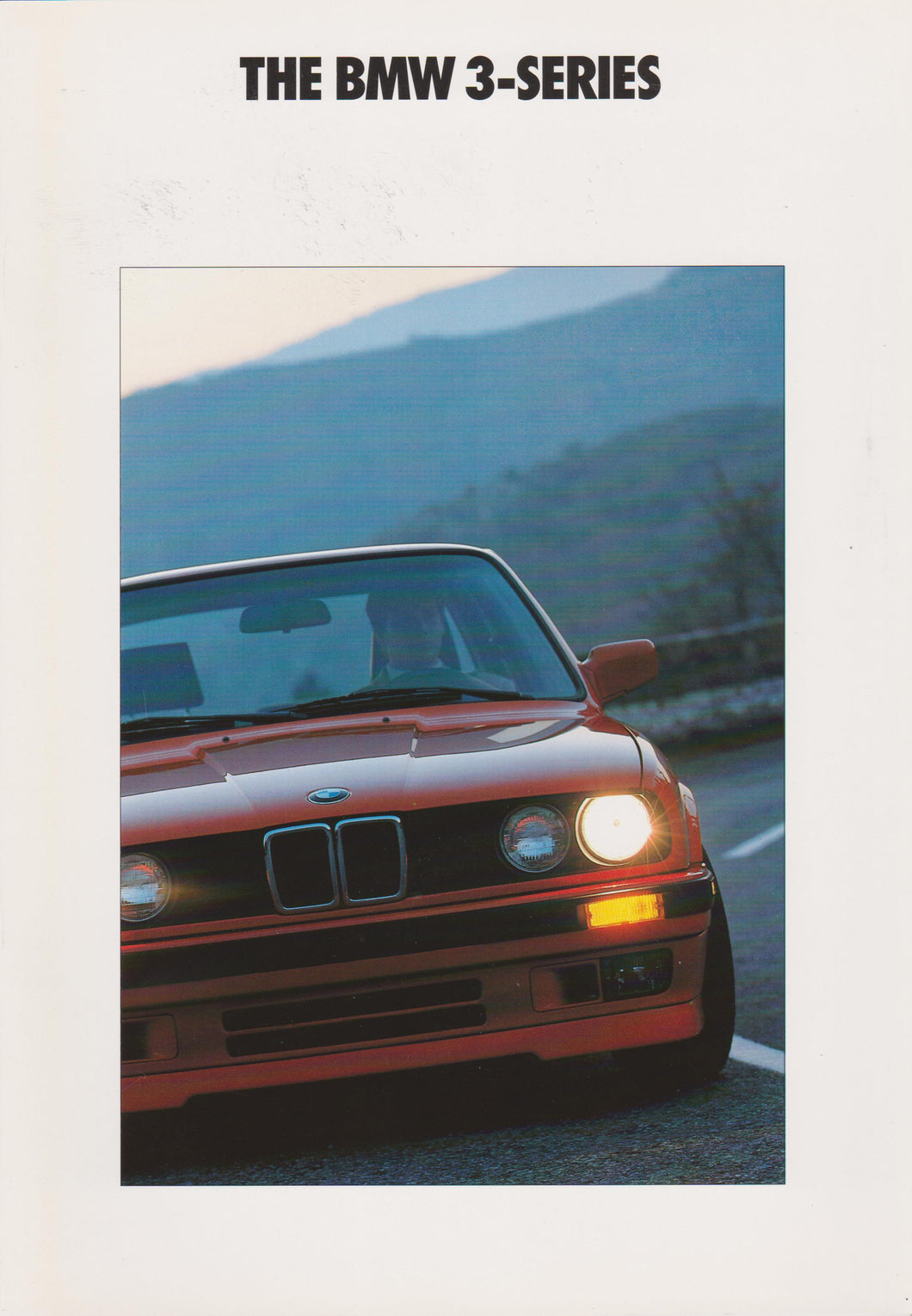 Brochure -The BMW 3-Series (1990 E30)