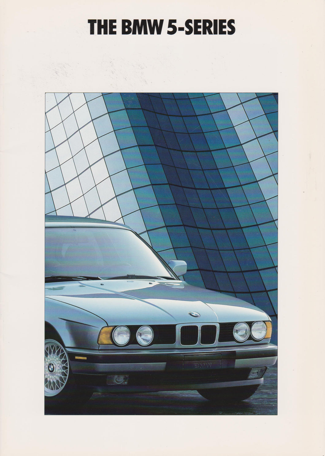 Brochure - THE BMW 5-SERIES (1992 E34)