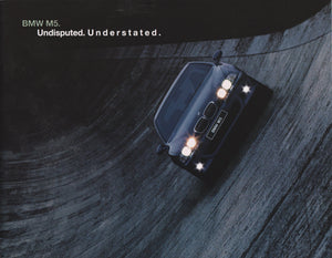 Brochure - M5 Undisputed. Understated. (2000 E39)
