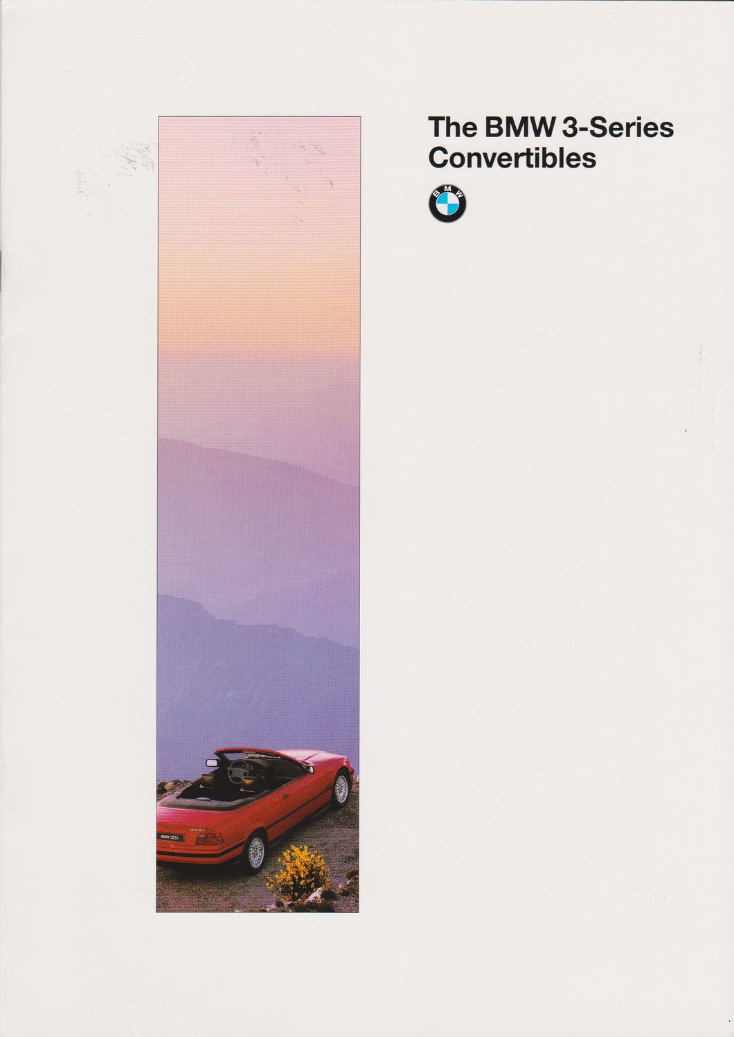 Brochure - The BMW 3-Series Convertibles (1995 printing)