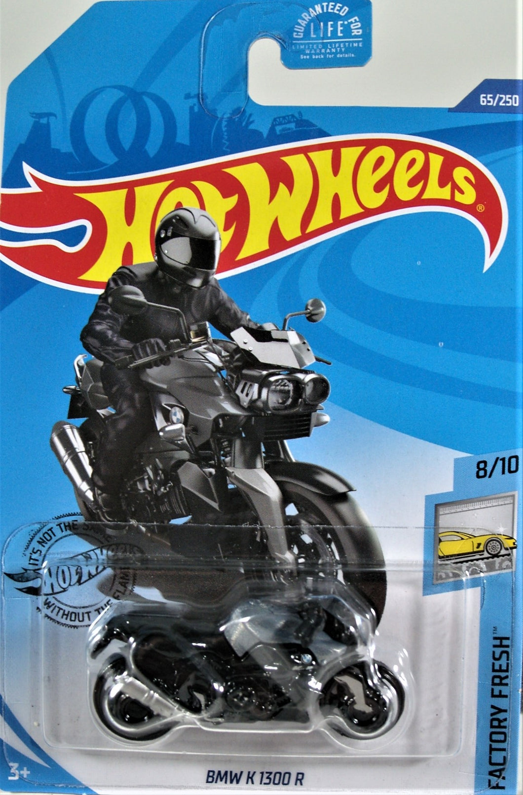 Hot Wheels 1:64 Black BMW K 1300 R Factory Fresh 8/10
