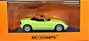 Diecast model 1:43 Maxichamps 1991 E30 BMW Z1- yellow