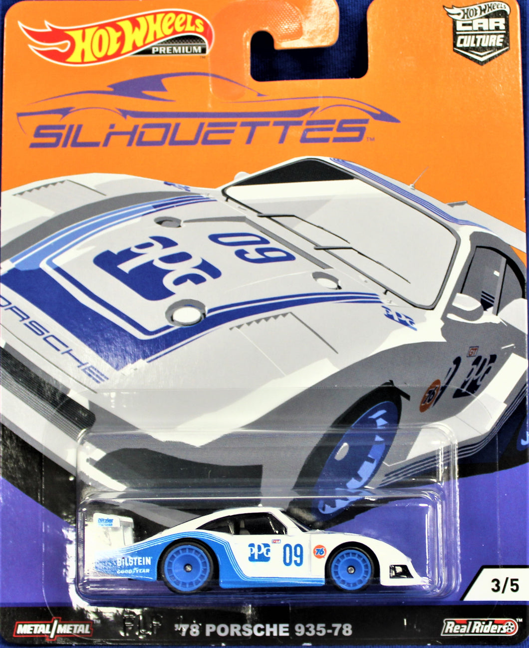 Hot Wheels '78 Porsche 935-78 (blue and white)