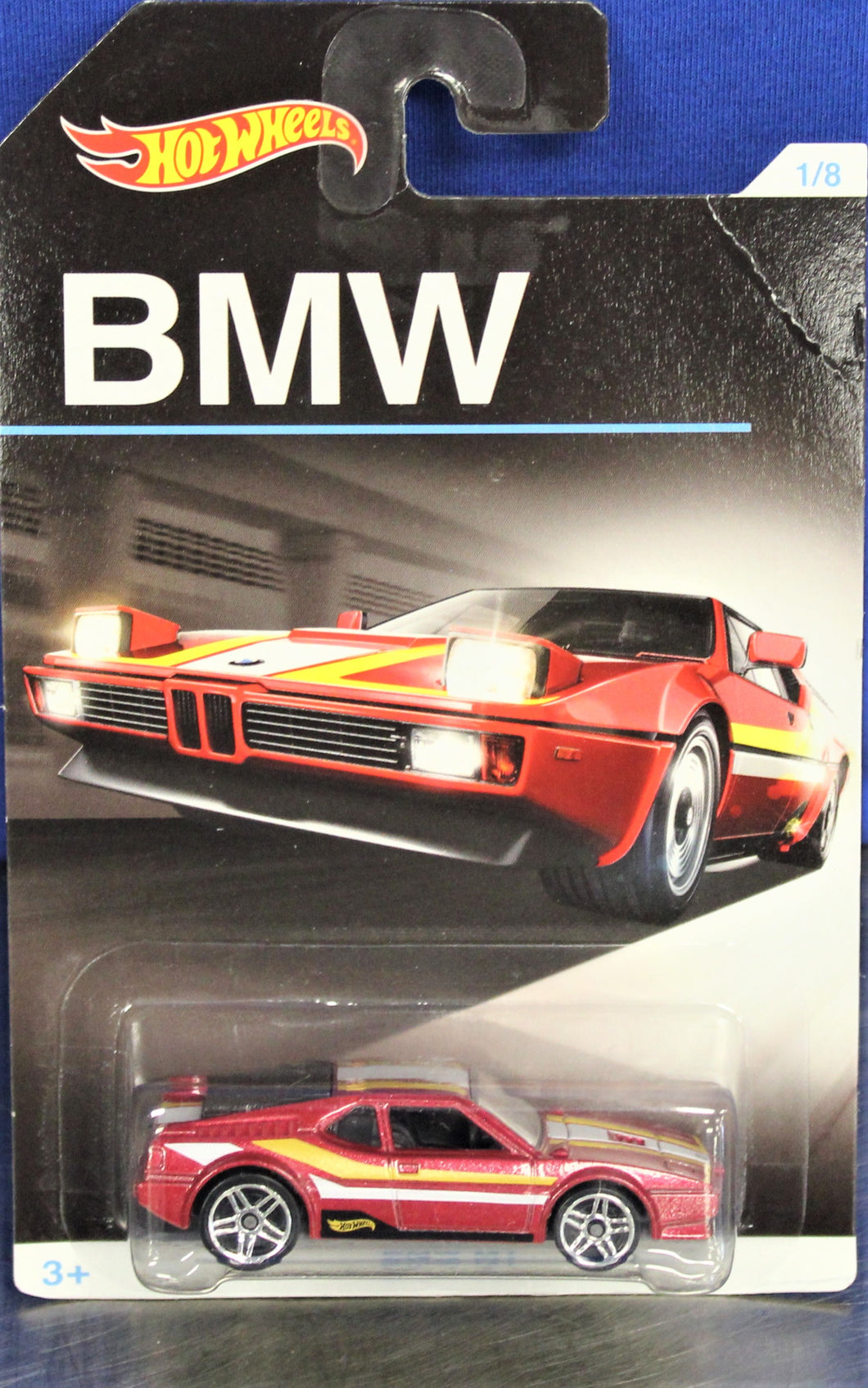 Hot Wheels -  BMW M1 (Red)