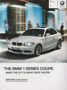 Brochure - 2013 BMW 1 Series Coupe 128i 135i 135is- E88