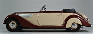 Guiloy 1:18 Burgundy/Tan  BMW  PW  327 Cabriolet 68565