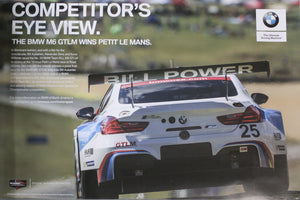 Poster - Competitor's Eye View.The BMW M6 Wins Petit Le Mans