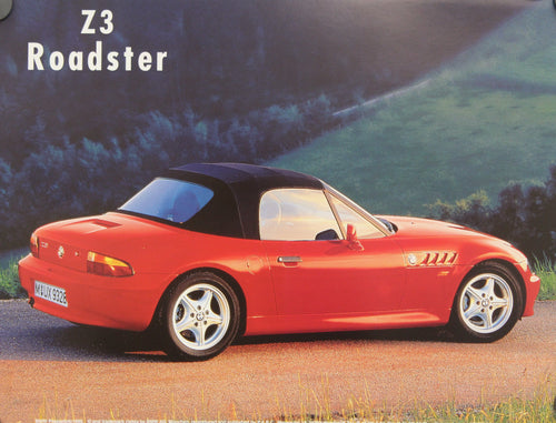 Poster - Z3 Roadster - Side View