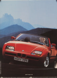 Poster - Z1 Roadster - Mountain View