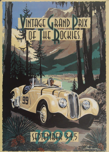 Poster - Vintage Grand Prix of the Rockies, September 3,4,5, 1999