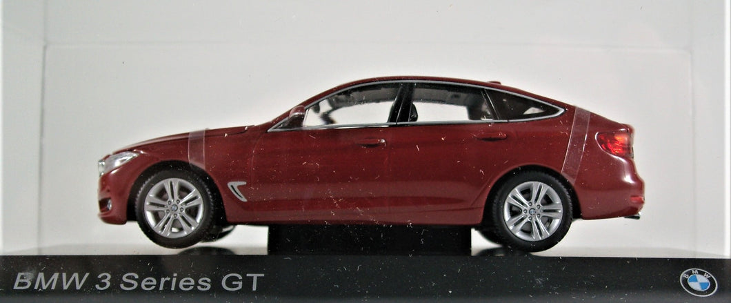 BMW 1:43 F34 3 Series GT - Melbourne Red Metallic.