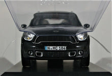 Load image into Gallery viewer, Schuco 1:43 Mini Cooper S Countryman, Absolute Black.