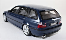 Load image into Gallery viewer, OttOmobile 1:18 BMW blue E46 Touring