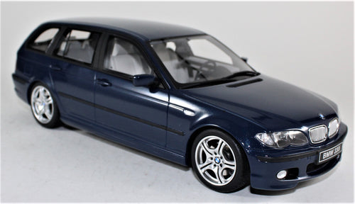 OttOmobile 1:18 BMW blue E46 Touring