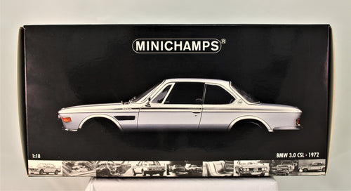 Diecast Model - Minichamps 1:18 1972	BMW 3.0 CSL