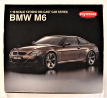 Load image into Gallery viewer, Diecast Model - Kyosho 1:18 2006 BMW E63 M6