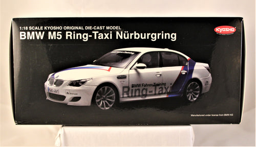 Diecast Model - Kyosho 1:18 BMW E60 M5 'Ring Taxi'
