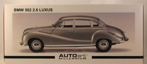 Diecast Model - AutoArt 1:18 BMW 502 2.6 Luxus