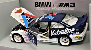 1:18 White  BMW  E36 1996 M3 GTR #07 Valvoline/Red  Bull