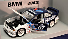 Load image into Gallery viewer, 1:18 White  BMW  E36 1996 M3 GTR #07 Valvoline/Red  Bull