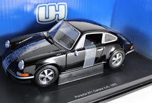 Load image into Gallery viewer, Universal Hobbies 1:18 Black Porsche 1972 911 Carrera 2.4L