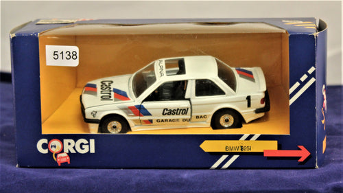 1:40 White  BMW  E30 325i Castrol #1 Garage du Bac