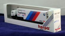 Load image into Gallery viewer, 1:87  White  BMW  Truck Vogelsang Linder M Team Transporter