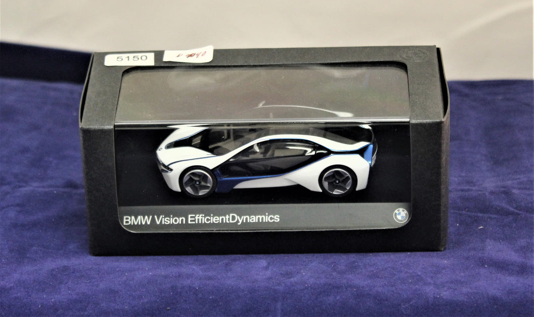 1:43 White  BMW  Concept 2010 Vision Efficient Dynamics Concept BMW Box